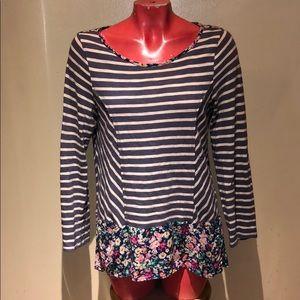 Anthropologie - Postcard top shirt blouse tunic